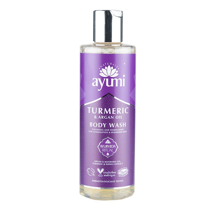 Ayumi Turmeric & Argan Oil Body Wash 250ml