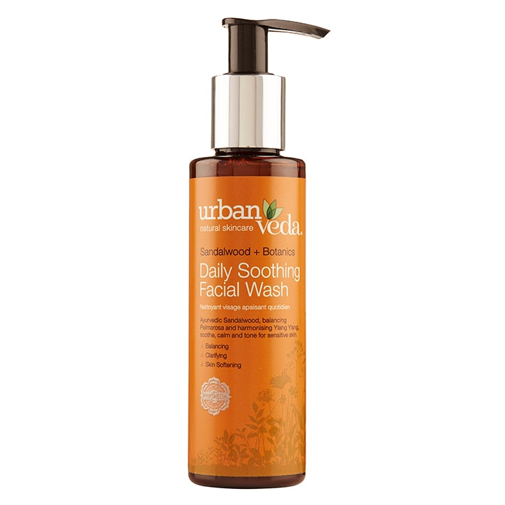 Urban Veda Soothing Daily Facial Wash 150ml