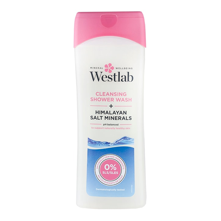 Westlab Cleansing Shower Wash + Himalayan Salt Minerals 400ml