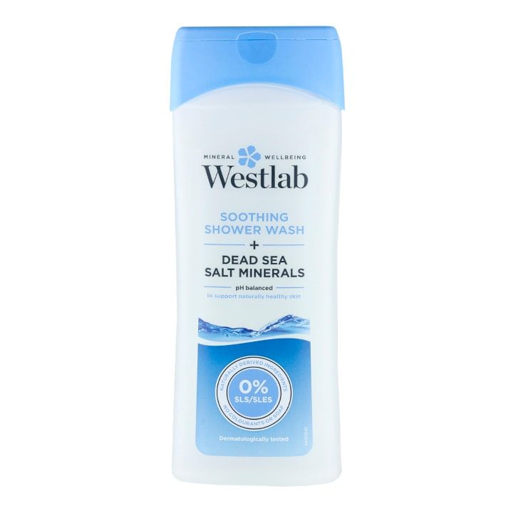 Westlab Soothing Shower Wash + Dead Sea Salt Minerals 400ml