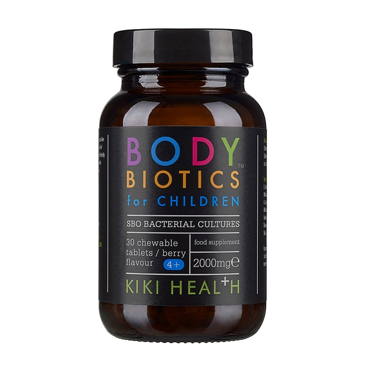 KIKI Health Body Biotics for Children 30 Tablets