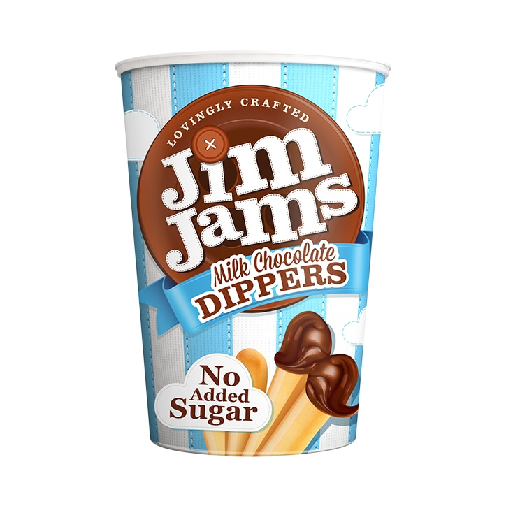Jim Jams Milk Chocolate Dippers 52g