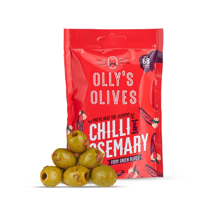 Olly's Olives Chilli & Rosemary Olives 50g