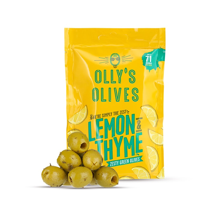 Olly's Olives Lemon & Thyme Olives 50g