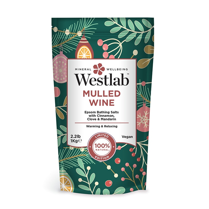 Westlab Mulled Wine Festive Bathing Salts