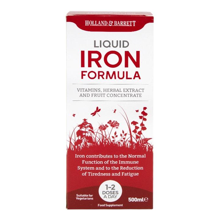Holland & Barrett Iron Liquid Formula 500ml