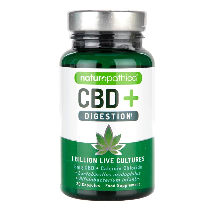 Naturopathica CBD+ Digestion 30 Capsules