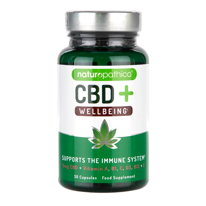 Naturopathica CBD+ Wellbeing Capsules
