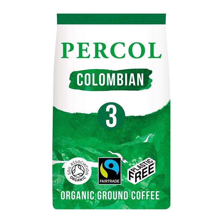 Percol Smooth Colombian Ground Coffee 200g