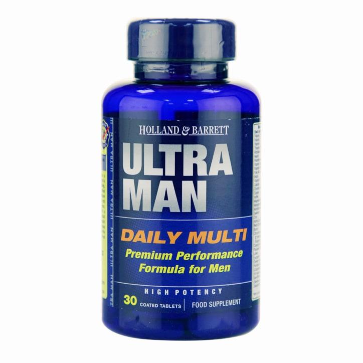 Holland & Barrett Ultra Man Multivitamin 30 Caplets