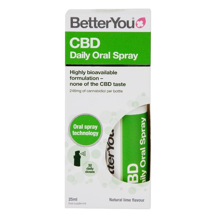 BetterYou CBD Daily Oral Spray 25ml