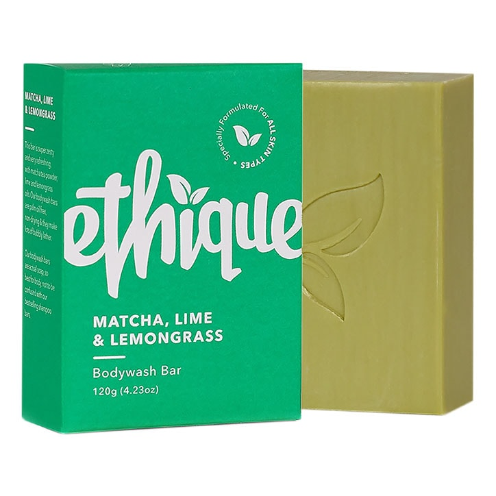 Ethique Matcha, Lime & Lemongrass Bodywash Bar 120g