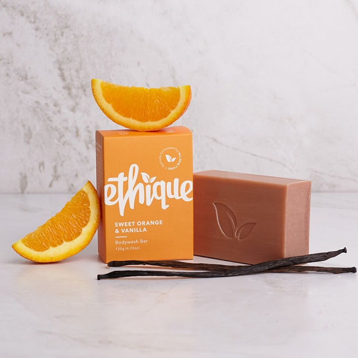Ethique Sweet Orange & Vanilla Bodywash Bar 120g