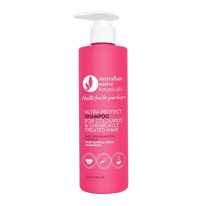 Australian Native Botanicals Ultra Protect Shampoo - Coloured & Chemically Treated Hair