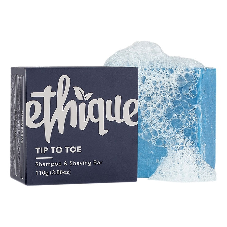 Ethique Tip To Toe Shampoo & Shaving Bar