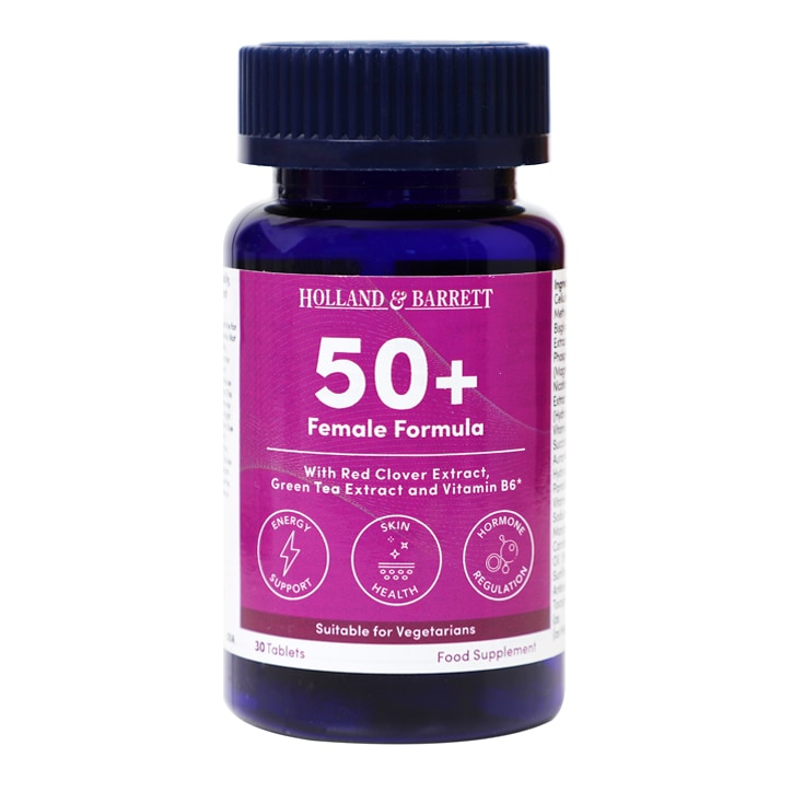 Holland & Barrett Female Multi 50+ 30 Tablets