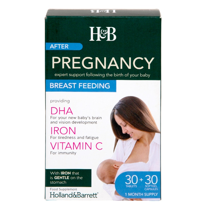 Holland & Barrett Pregnancy Breastfeeding Dual Pack Tablets & Capsules