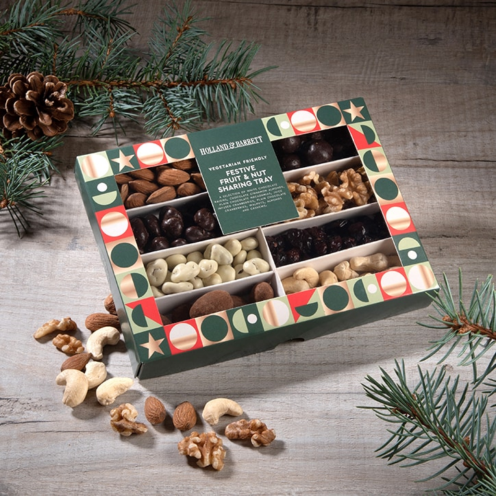 Holland & Barrett Festive Fruit & Nut Sharing Tray