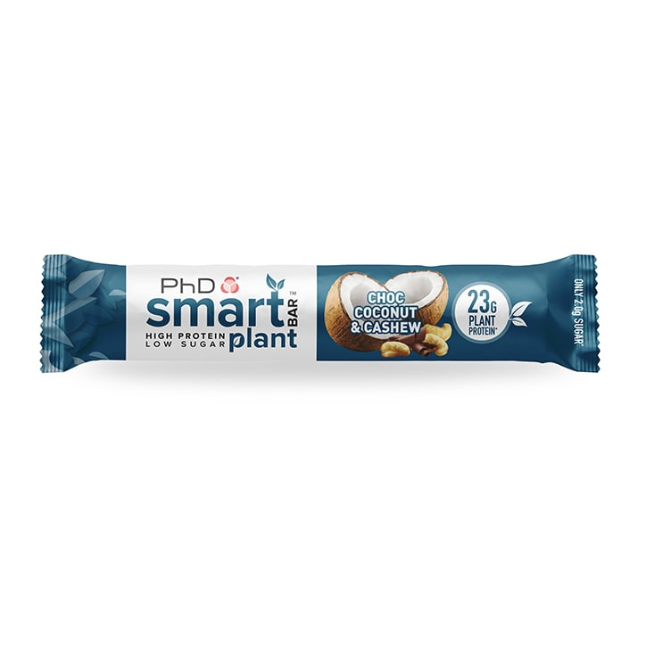 PhD Smart Bar Plant Chocolate Coconut and Cashew 60g