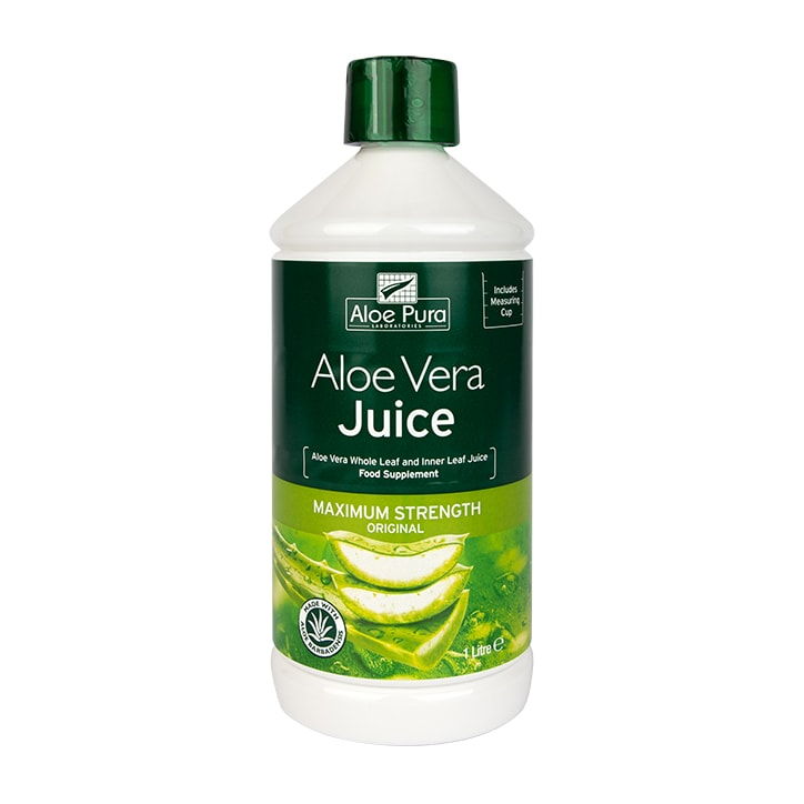 Aloe Pura Aloe Vera Maximum Strength Juice