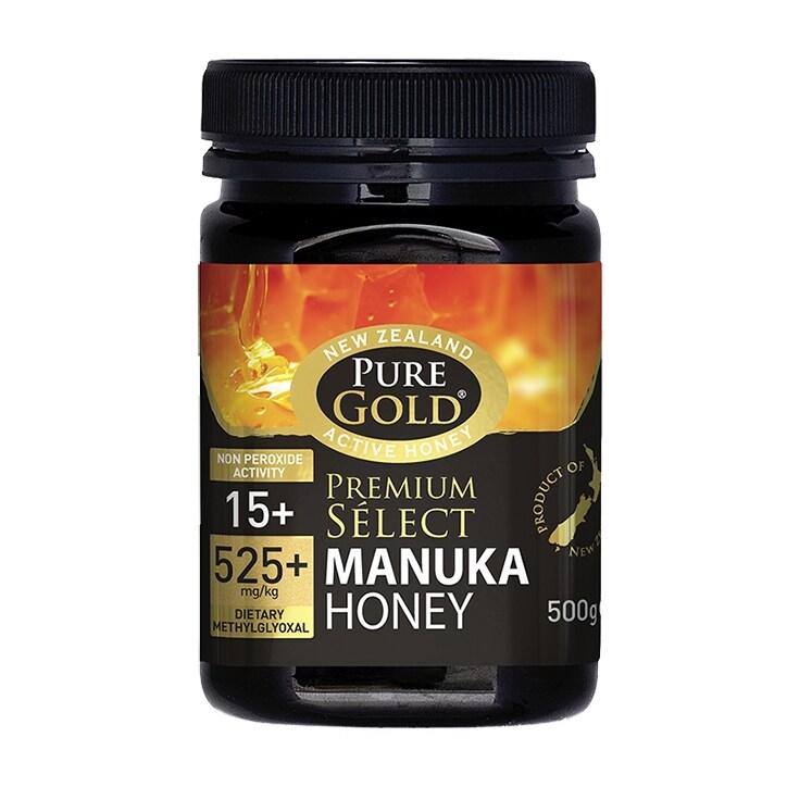Pure Gold Manuka Honey NPA 15+ 500g Jar