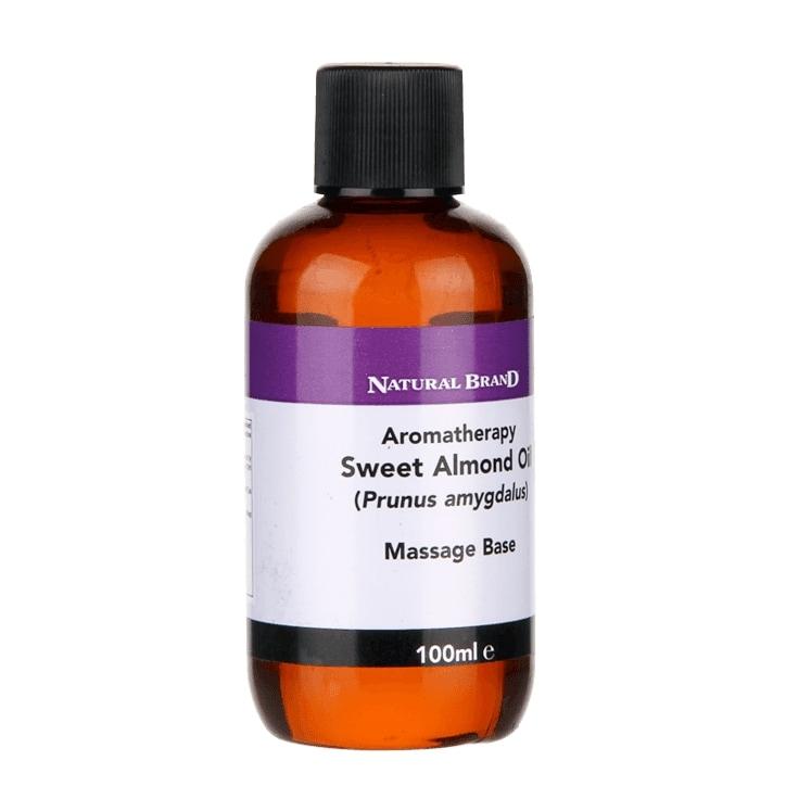 Natural Brand Aromatherapy Sweet Almond Oil Massage Base 100ml