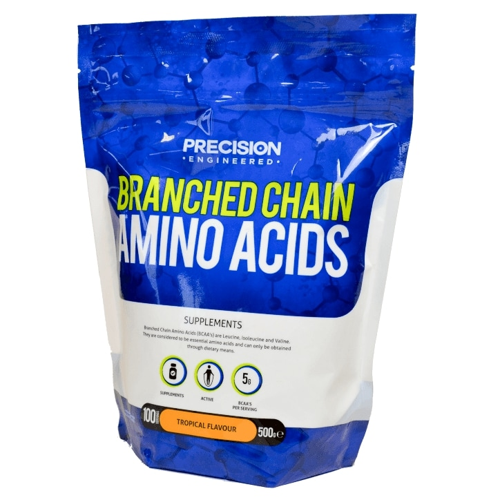 Precision Engineered Branched Chain Amino Acids Powder Tropical 500g
