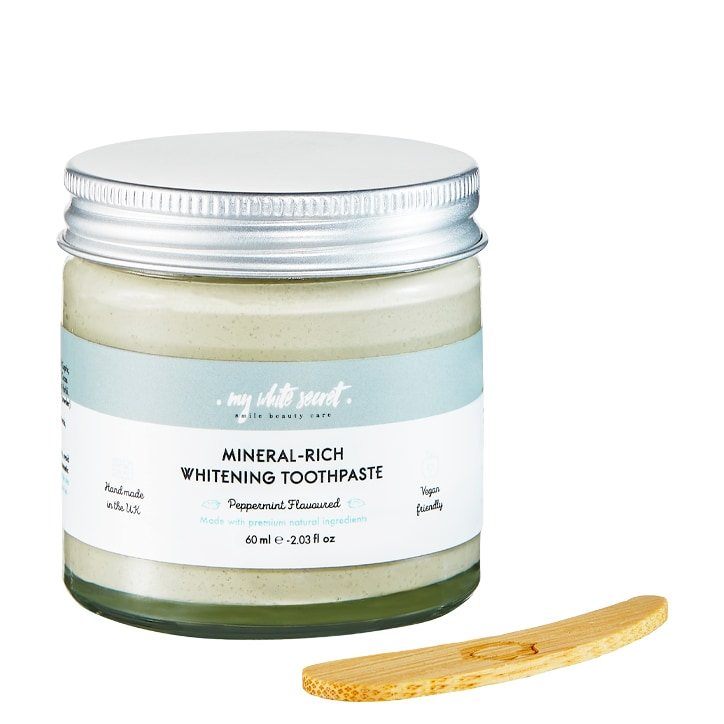 My White Secret Natural Toothpaste In A Jar