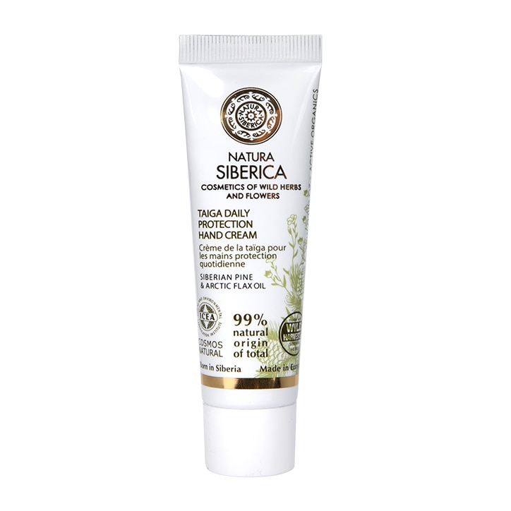 Natura Siberica Taiga Daily Protection Hand Cream 30ml