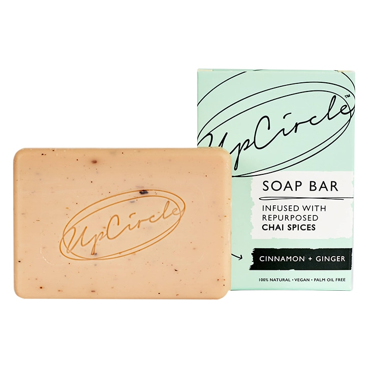UpCircle Cinnamon & Ginger Chai Soap Bar 100g