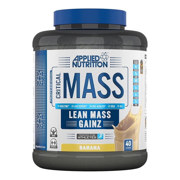 Applied Nutrition Critical Mass Protein Banana 2400g