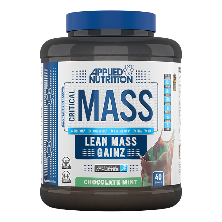 Applied Nutrition Critical Mass Protein Chocolate Mint 2400g