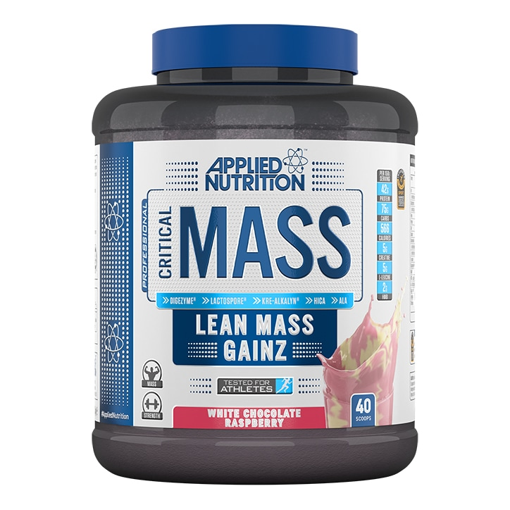 Applied Nutrition Critical Mass White Chocolate Raspberry 2400g