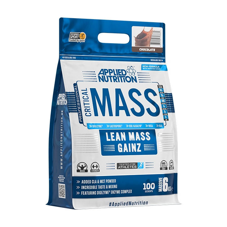 Applied Nutrition Critical Mass Protein Chocolate 6000g
