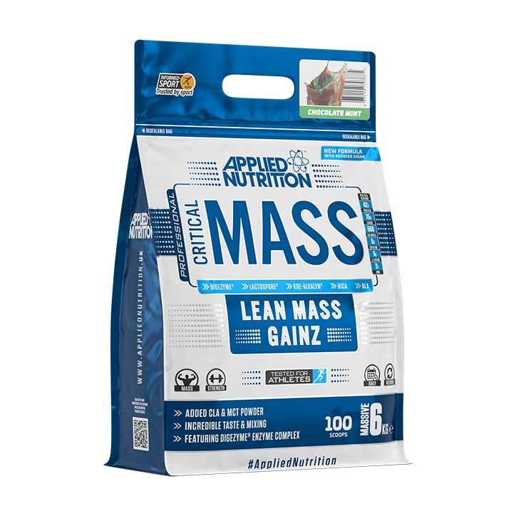 Applied Nutrition Critical Mass Protein Chocolate Mint 6000g