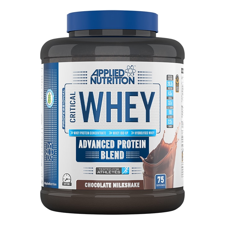 Applied Nutrition Critical Whey Protein Chocolate Milkshake 2270g