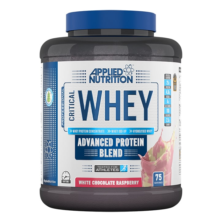 Applied Nutrition Critical Whey Protein White Chocolate Raspberry 2270g
