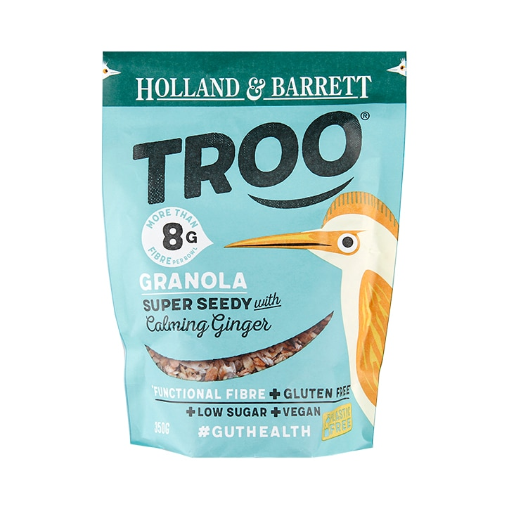 Holland & Barrett Troo Granola Super Seedy with Ginger