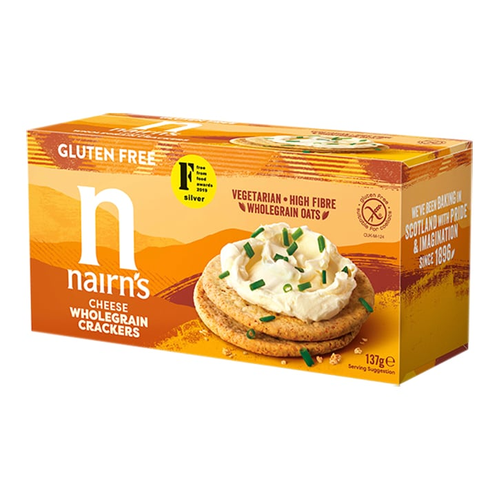 Nairn's Gluten Free Cheese Crackers 150g