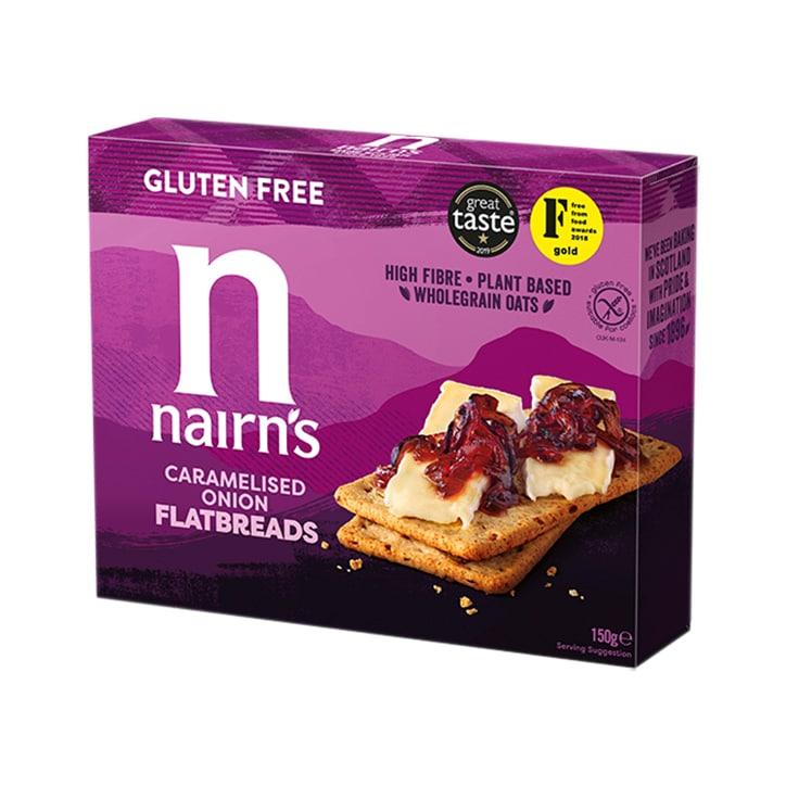 Nairn's Gluten Free Flatbread Caramalised Onion 150g