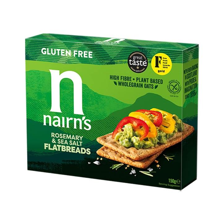 Nairn's Gluten Free Flatbread Rosemary & Sea Salt 150g