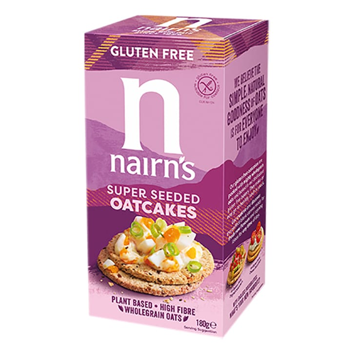 Nairn's Gluten Free Super Seeded Oatcakes 180g