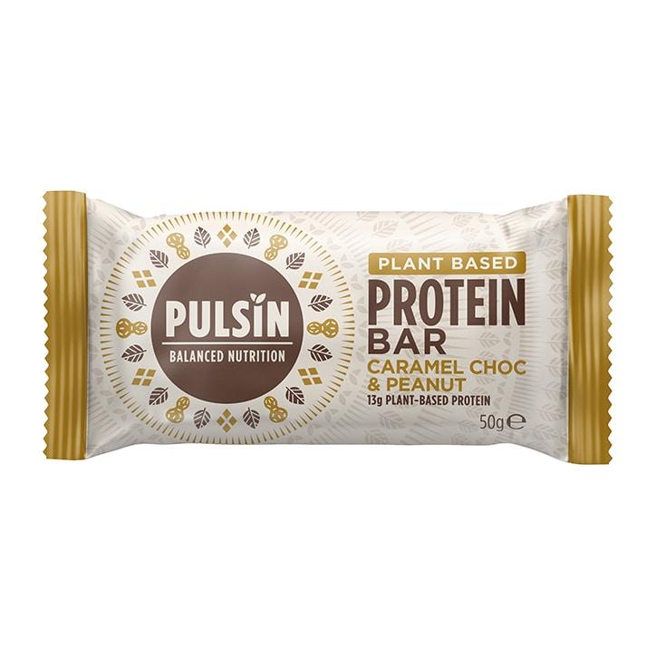 Pulsin Protein Booster Caramel Choc Peanut 50g