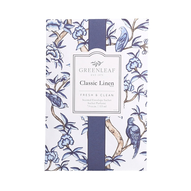 Greenleaf Classic Linen Fragrance Sachet 115ml