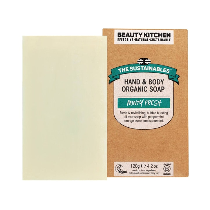 Beauty Kitchen Minty Fresh Soap Bar