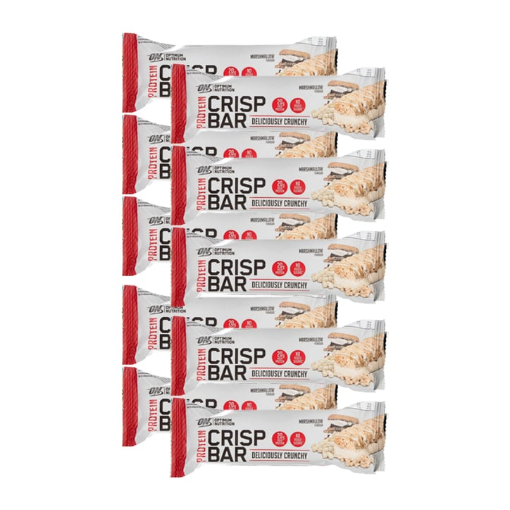 Optimum Nutrition Crisp Protein Bar Marshmallow 10 x 65g