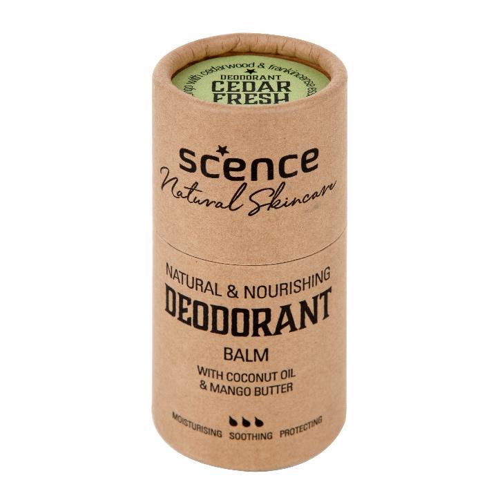 Scence Cedar Fresh Deodorant Balm 75g