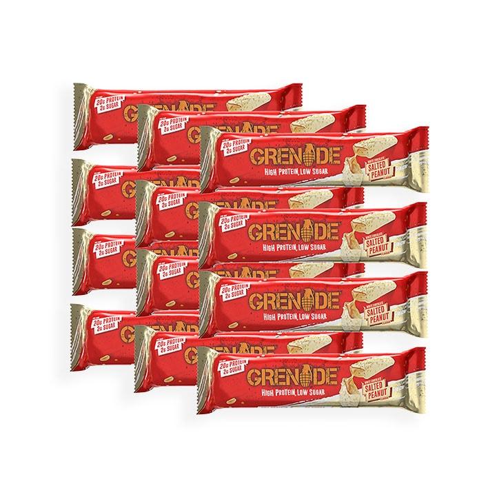 Grenade Carb Killa White Chocolate Salted Peanut 12 x 60g