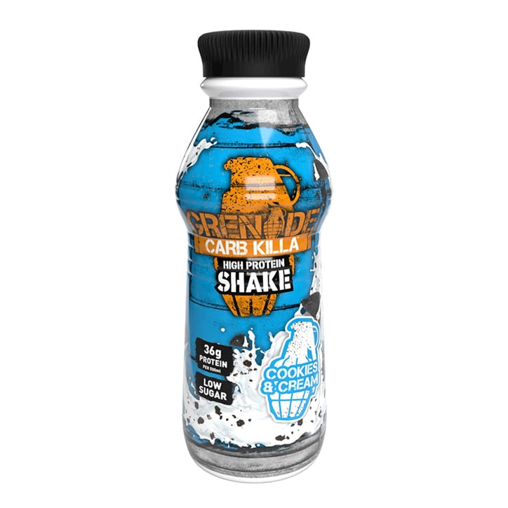Grenade Carb Killa Shake Cookies & Cream 500ml