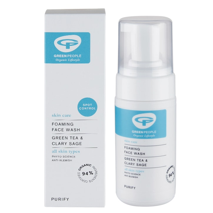 Green People Foaming Face Wash - Anti Blemish